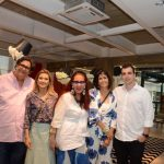 Antonio Neves da Rocha, Flavia Marcolini, Tânia Caldas, Lucila Pessoa de Queiroz e Paulo Crosman
