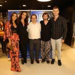 Carol Oliveira, Vannessa Gerbelli, Wagner de Assis, Guilherme Prates e Carmo Dalla Vecchia
