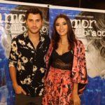 Carol Oliveira e o namorado Juan Ciancio