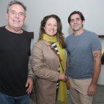 Chico Chaves, Flavia Finch e Edu Monteiro