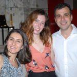 Cintia Milon, Livia Araujo e Paulo Crosman