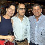 Marluce Dias, Eurico Carvalho e Edson Pimentel