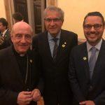 Dom Murilo Krieger, Arcebispo Primaz do Brasil, deputado José Rocha e Fausto Franco