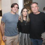 Edu Monteiro, Lais Santana e Chico Chaves