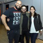 Filipe Chulam, Rodrigo Bodstein e Joana Chulam