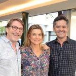 Francisco Amorim, Flavia Marcolini e Ricardo Melo
