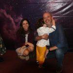 Alexa Escobar com a família