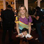 Fernanda Gentil com o filho Gabriel