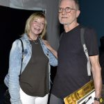 Kate Lyra e Jean-Claude Bernardet