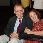 Marco Lucchesi e Miriam Jacobson