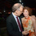Marco Lucchesi e Rosana Lanzelotte
