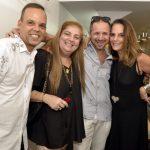 Mauro Roma, Tereza Szpacenkopf , Rogério Silva e Patricia Secco