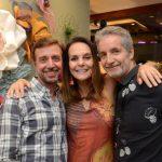 Nando Grabowskim, Patricia Secco e Pedro Guimarães