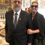 O novo PGR Augusto Aras e Maria Mercês