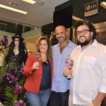 Patrícia Mellodi, Ricardo Portilho e Alexandre Rabello