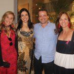 Patricia Hall, Cristina Cortes, Alexandre Bianco e Adriana Caevalho
