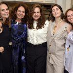 Patricia Secco, Roberta Damasceno, Patricia Xavier, Ana Luna e Karina Mondini