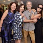 Roberta Damasceno, Vera Bocayuva, Pedro Guimarães e Patricia Secco