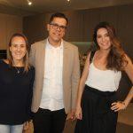 Roberta Nicolau, Vinicius Aguiar e Izabela Lessa