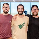 Rogério Donato, Gil Lebre e Leo Gil
