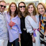 Rogério Silva, Karina Mondini, Patricia Secco, Barbara Muller e Lenny Niemeyer