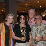 Rosa Prado, Carla Robertio, Claudio Lobato e Raul Barbosa