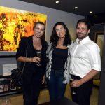 Tatiana Fogaça, Alessandra Bobba e Macelo Abdo