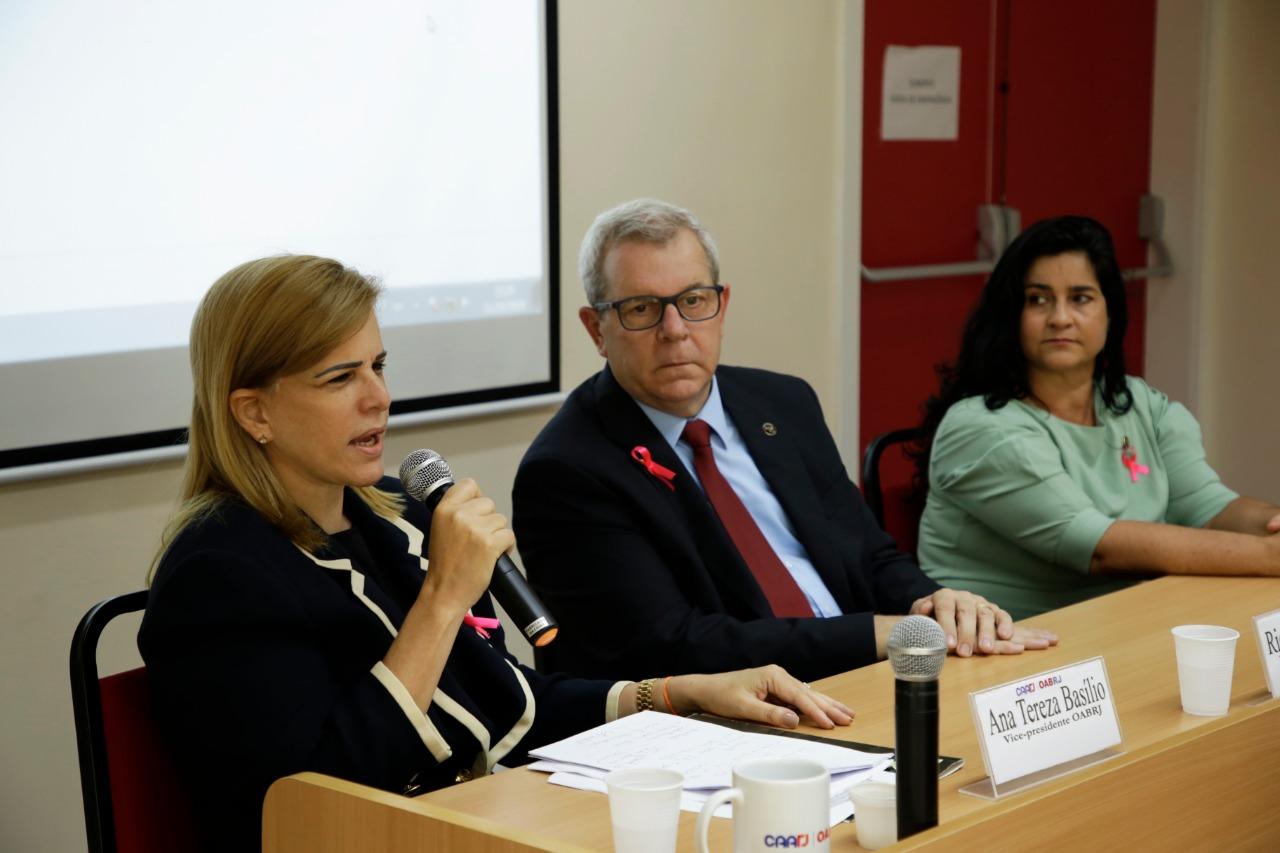Vice-presidente da OAB/RJ, Ana Tereza Basilio revela vitória sobre o câncer de mama