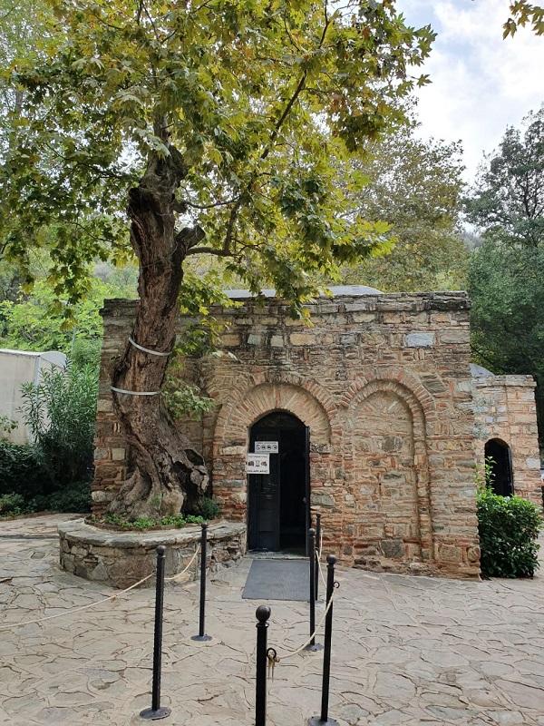 Em Éfeso, a casa onde a Virgem maria viveu seus últimos dias com São João Evangelista