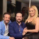Alexis de Vaulx, Diego Cosac e Ariadne Coelho