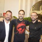 Arnaldo Goncalves, William Tavares e Arthur Goncalves