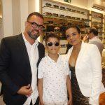 Arnaldo, Pedro e Raquel Goncalves