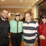 Arthur Goncalves, Ligia Sposato Grande, Paulo Cesar Grande e Eliana Sposato