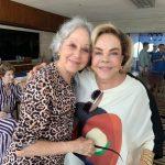 As irmãs Lucia Guimarães e Regina Rique