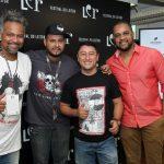Binho, Jesse Andarilho, Wagner Amaro e Francisco Jorge