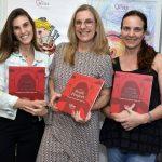 Bruna Hansen, Luciana Soares e Claudia Rebecchi