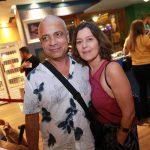 Carlos Manoel e esposa