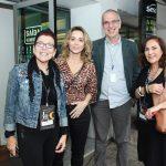 Cristina Reinsperger, Leticia Rangel, Flavio Wittlin(sesc) e Jacyra Lucas