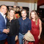 Eduardo e Chistianne Guinle com Sergio Felipe Coutinho e Alessandra Grozko
