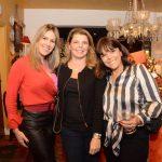 Eugênia Guima, Christianne Guinle e Ecila Antunes