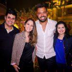 Felipe Ferraro, Mari Rahman, Eduardo Muniz e Gisele VIeira