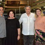 Franklin Pedroso, Adriana Rosenberg, Waltercio Caldas e Fernanda Candeias