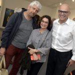 Frederico Mendes, Eveline Barki e Frederico Dalton