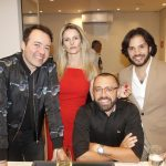 Gustavo Goncalves, Silvia e Arthur Goncalves e Marcelo Cassim