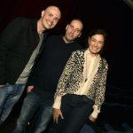Gustavo Pinheiro, Allan Fiterman e Lilia Cabral