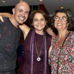 Gustavo Pinheiro, Drica Moraes e Claudia Marques