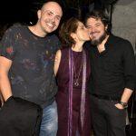 Gustavo Pinheiro, Drica Moraes e Guilherme Piva