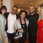 Hannah Goncalves, Arnaldo Goncalves, Leda Nagle, Arthur e Silvia Goncalves