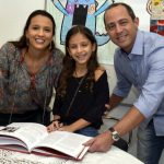 Isabela, Carolina e André Lemos