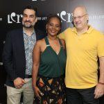 Julio Silveira, Eliana Alves Cruz e Alberto Mussi